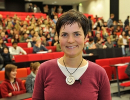 Ellen MacArthur - one of the past lecturers on the MLP