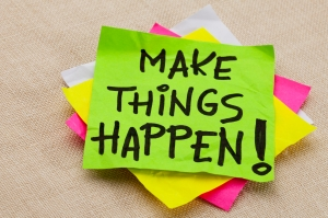 Make things happen