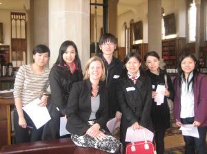 International mentees from China