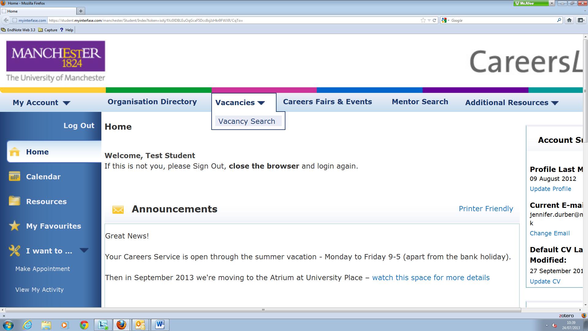 Vacancy Screenshot