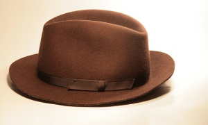 "The poet John Oldham said, ""And all your future lies under your hat."" How can you make sure it's the right hat?"