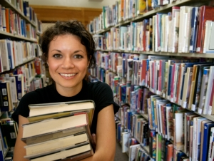 iStock_000003737186Small Student in library