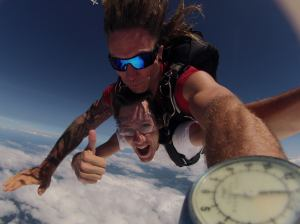 Phil skydive