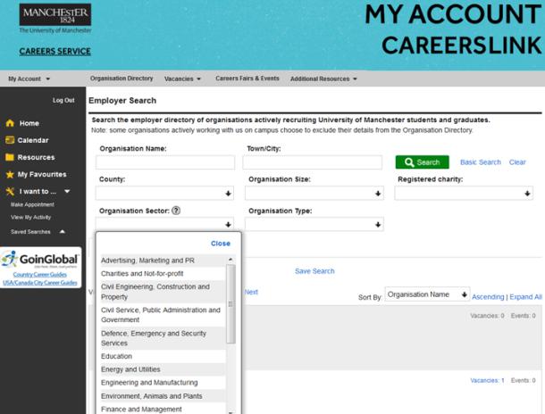 careerslinkorganisationdirectory