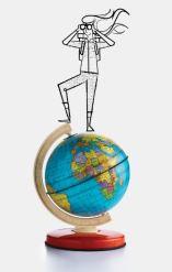 globe girl small