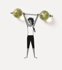 weights lock up