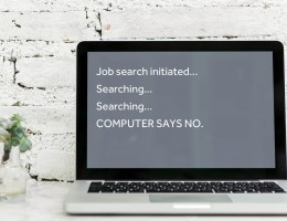 Jobsearch computer says no